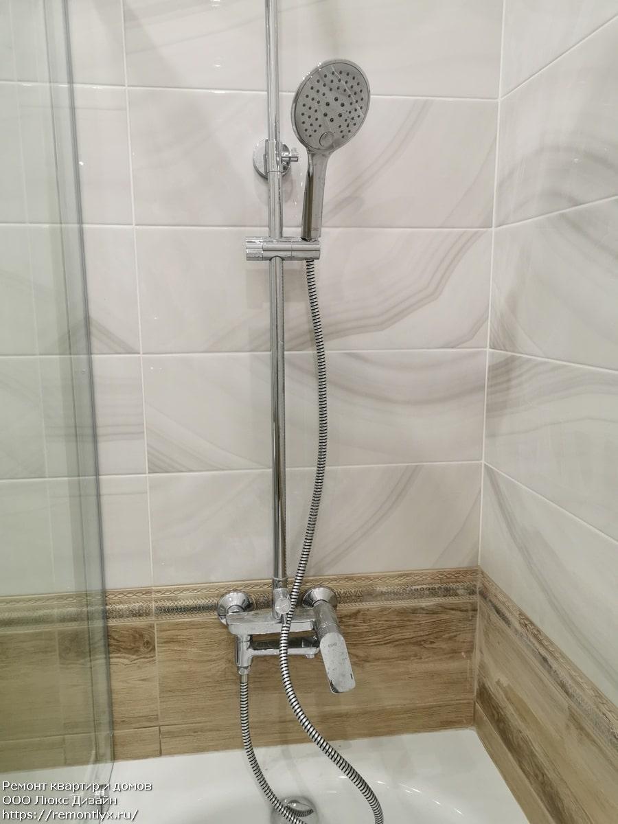 Ремонт ванной комнаты после